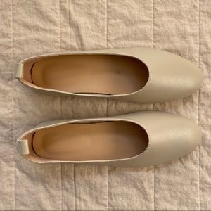 Shoes - Beige Everyday Flat Dupe for Everlane Day Glove